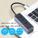 Vention USB HUB USB 2.0 to USB 2.0 3 Port With Audio Interface Adapter