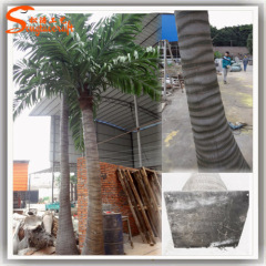 Styleized Artificial coconut trees fake green leaves Palm Tree for complex decoration