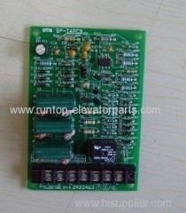 Sigma elevator parts PCB SP-T4 for Sigma elevator
