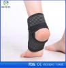 Black adjustable mens neoprene ankle support/ankle brace socks