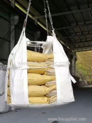 white sling bag for cement