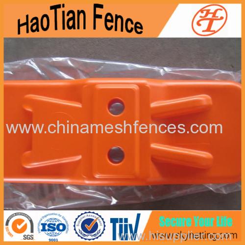 пластик временный забор пребывание фарфора временные ограждения ноги