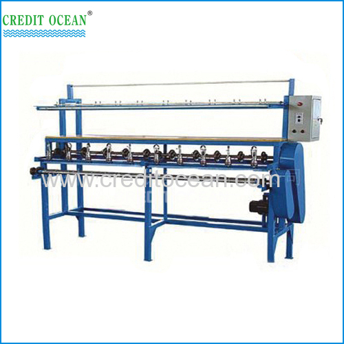 10 heads cord knitting machine