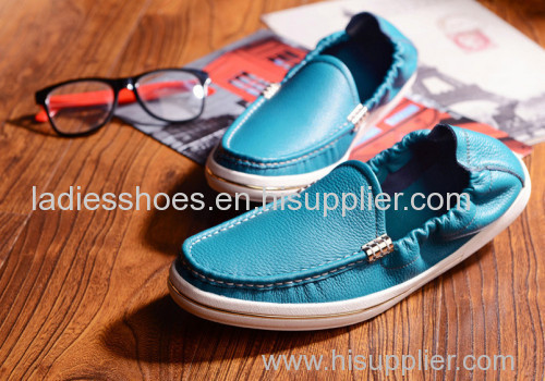 genuine business falt men shoes