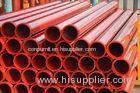 Concrete Pump Accessories Red Steel Pipe SK / FM Flange DN125 X 4.5mm