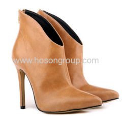 New style pretty ankle high heel dress boots