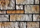 Colorful Artificial Wall Stone For Interior / Exterior Wall Decoration Irregular Size