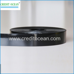 shoes lace acetate cellulose film black color