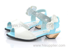 PU Leather Upper For Girl's Shoes