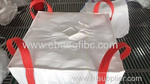 Color Loops FIBC Jumbo Bags for Packing Iron Oxide Powder