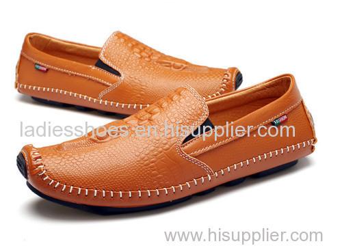 Clip on leisure flat men shoes