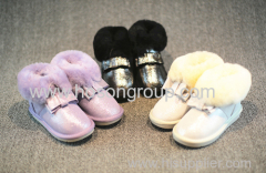 Beautiful Children Princess Shoes With Bownot