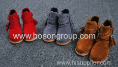New Arrival Children Boots with Tassels