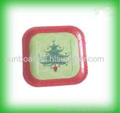 cast iron square enamel vegetable plate