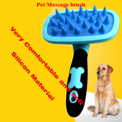 Soft Silicone Massage Pet Brush