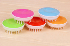 Plastic Pet Bath Brush