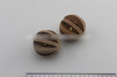 Wooden Ball Bell Pet Balls Toy