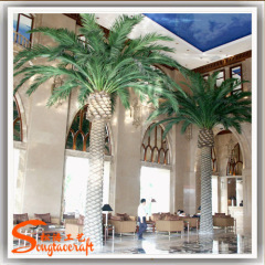 Sales Evergreen plants Outdoor decor Artificial Date Palm Tree projects in dubai