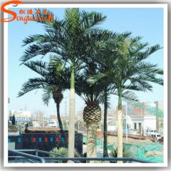 Fake outdoor middle East trees artificial Roystonea regia palm tree on sale