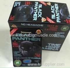 BlACK PANTHER Sex Capsule Male Sexual Enhancement Pills Black Panther 100% Natural