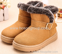 Flat Warm Chilren Boots