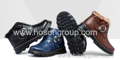 Classical Children Boots With Buckle