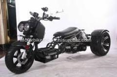 Ice Bear MADDOG 150cc Motor Trike PST150 19N with 12 14 Extra Wide Big Tires LED Style Lights