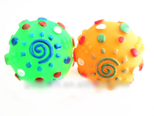 Colorful Rubber Ball For Dog