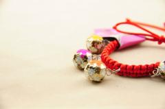 Lovely Handwork Bell Dog Collar