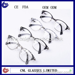 2016 Latest Fashion Unisex Custom Eyeglass Frames Optical Wholesale China Stock Eyewear