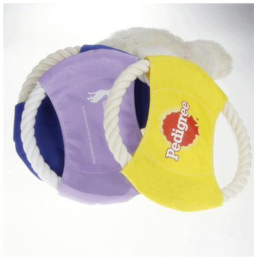 Durable Fabric Rope Frisbee