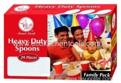 24 pcs Heavy Duty Spoons