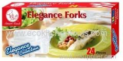 24 pcs Elegance Forks