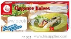 24 PC Elegance Knife Set