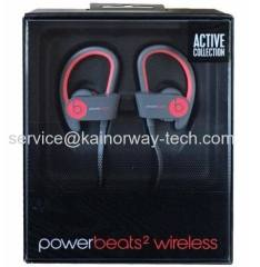 Beats Powerbeats2 Wireless Ear-hook Active Collection Grey Red Headphone Earphones
