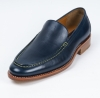 Men Leather Business Flat Clip on Shoes