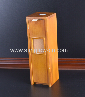 Natural Color Wine Wooden Box