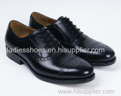 Latest Men's Lace up Flat Business Leather Shoes