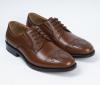 latest cheap price custom italian fashion brown men casual flat leather shoe
