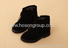 New Collection Tassels Upper Children Boots