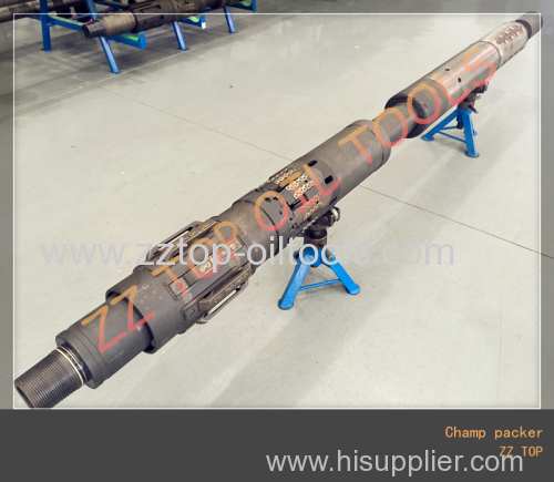 Oil Well Downhole Testing High Pressure Retrievable Packer CHAMP Packer