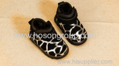 Children clip on casual boots