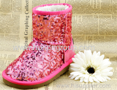 New Style Children Pailletters Boots