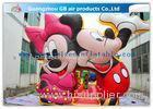 Beautiful Mickey Mouse Kids Inflatable Bouncy Castle Cartoon With CE / UL Blower