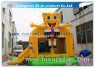 Spongebob Inflatable Bounce House Bouncer For Kids Jumping PVC Tarpaulin
