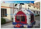Dog Shape Inflatable Bouncer House Kids Toy Jumping Bouncer Castle With Blower