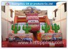 Cartoon Giant Commercial Water Slip And Slide Inflatable Toys For Adults And Kids
