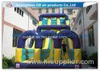 Outdoor Large Slip N Slide Water Slide / Children Double Water Slide Inflatable