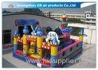 Durable Rabbit Childrens Large Inflatable Fun City Playground For Rental