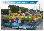 Mickey Theme Inflatable Amusement Park with bounce House For Party 15 * 8m